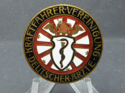 Badge - Motorists Association of German Doctors