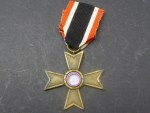 KVK - War Merit Cross 2nd Class without swords manufacturer 10 (Förster & Barth) on the ribbon