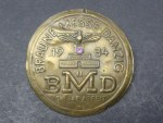 Conference badge - BMD Braune Messe Danzig 1934 - I gave work