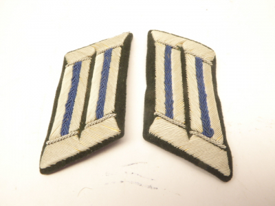 Pair of collar tabs for officers doctor