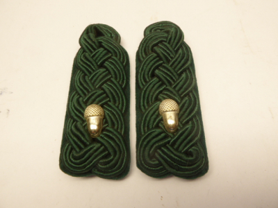 Pair of shoulder boards forest forest service forester