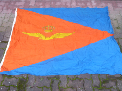 Unknown flag with manufacturer Shipmate Vlaardingen