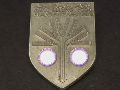 Badge - Reichsnährstands exhibition 1936 Frankfurt am Main