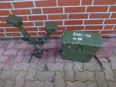 Early NVA - spatial distance measuring device EMK-0,4 of the NVA from Carl Zeiss Jena in box