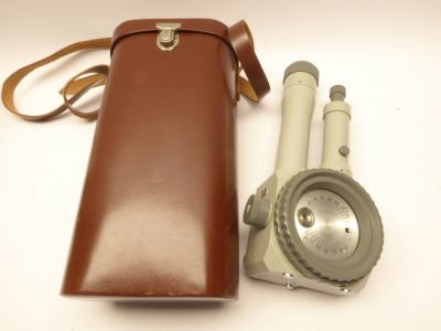 Carl Zeiss Jena - dust measuring device / Konimeter in a bag