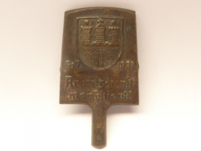 Badge RAD - Labor Service Marching! Hamburg 1934