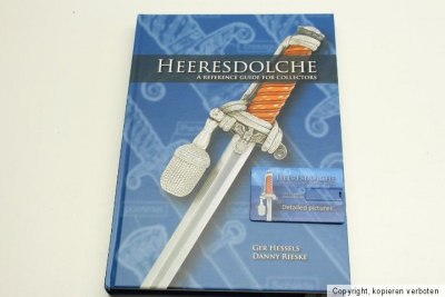 Heeresdolche - A reference book for collectors by Hessels & Rieske (GERMAN & ENGLISH) with memory card